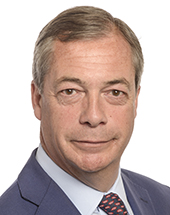 Nigel Farage }