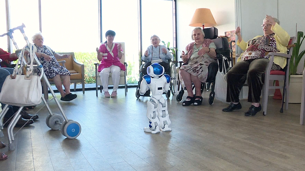 Elder care robot