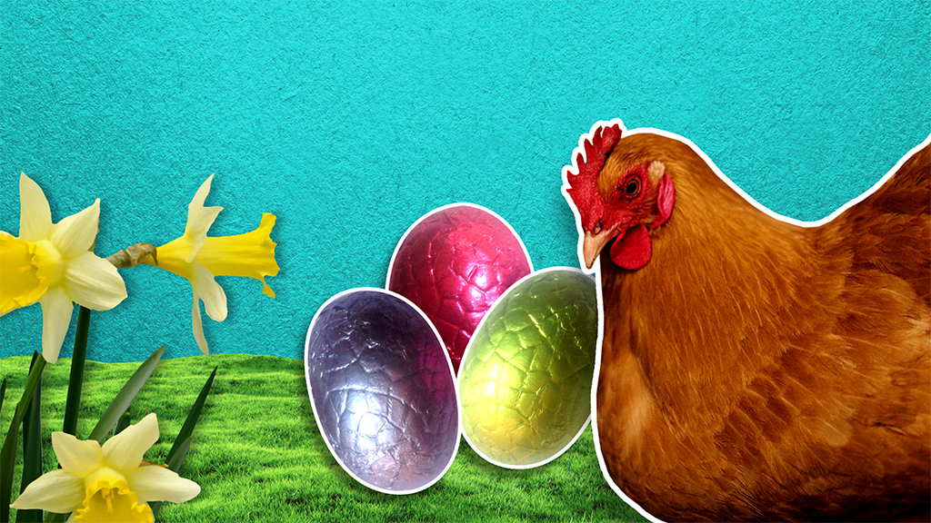 Eggstra fun facts for Easter