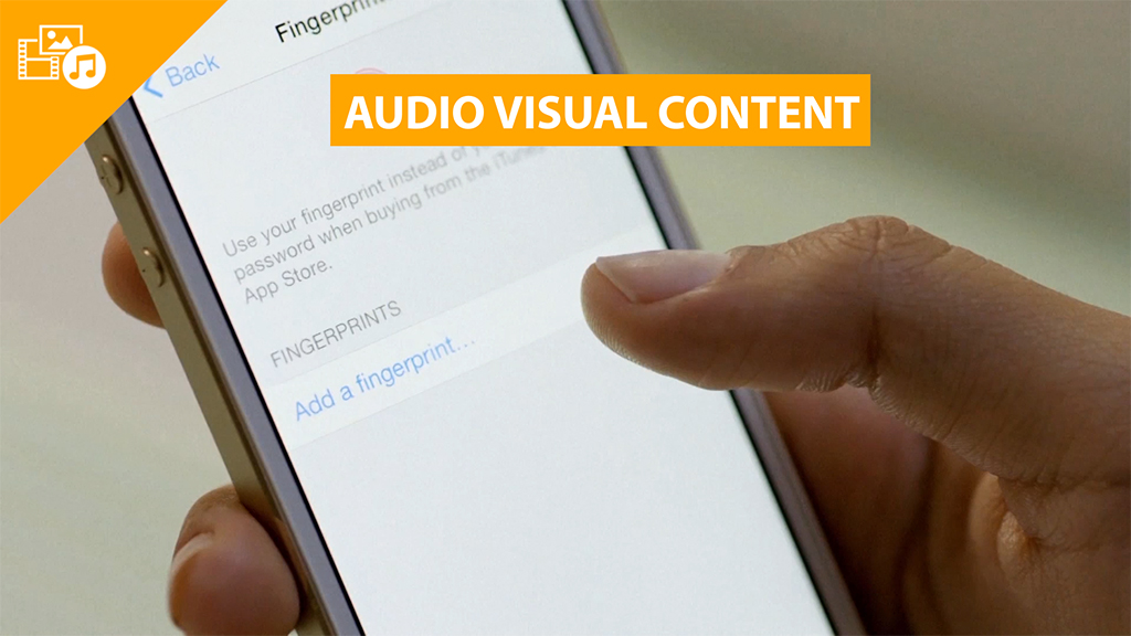 audiovisual content infographics
